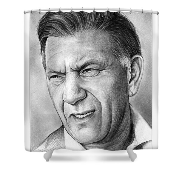 Jack Klugman Shower Curtain