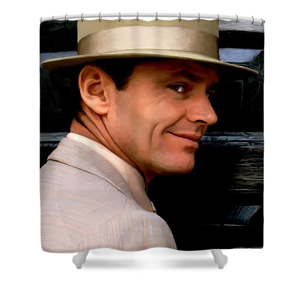 Jack Nicholson @ China Town Shower Curtain