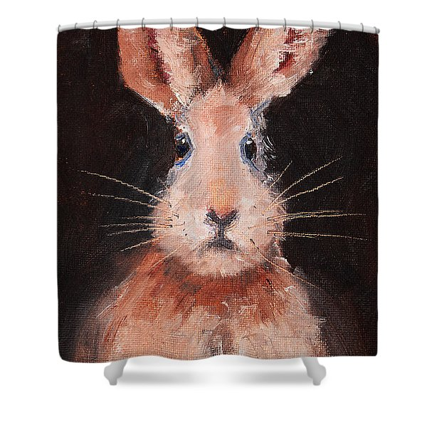 Jack Rabbit Shower Curtain