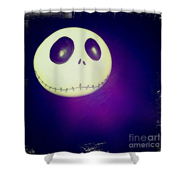 Jack Skellington Shower Curtain