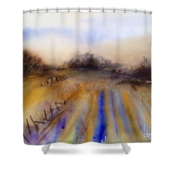 Jackies Farm Shower Curtain