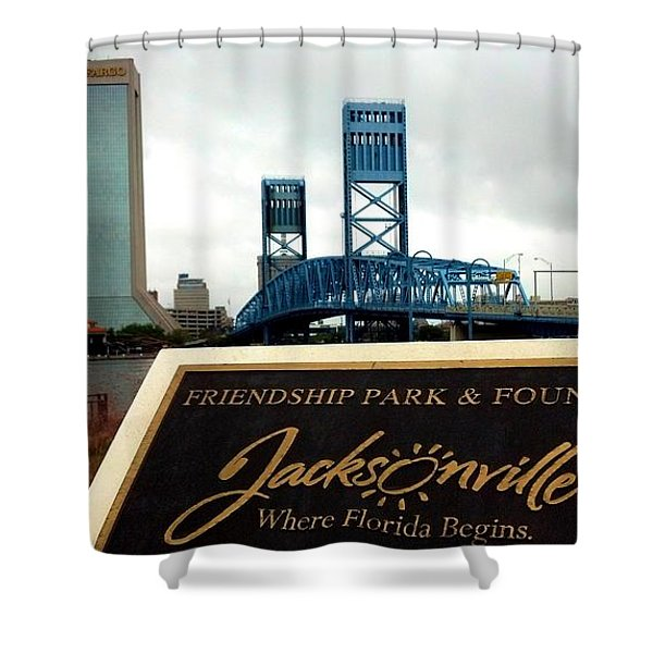 Jacksonville Shower Curtain