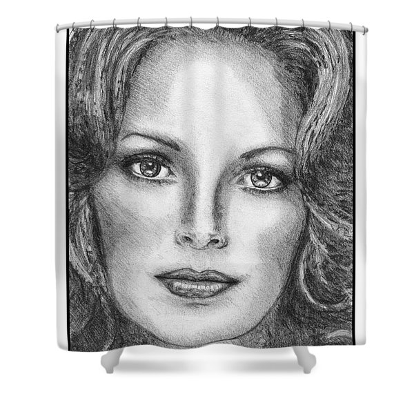 Jaclyn Smith In 1976 Shower Curtain