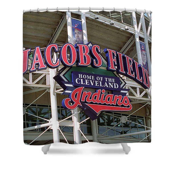 Jacobs Field - Cleveland Indians Shower Curtain