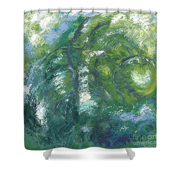 Jade Is The Color Of Your Energy Shower Curtain
