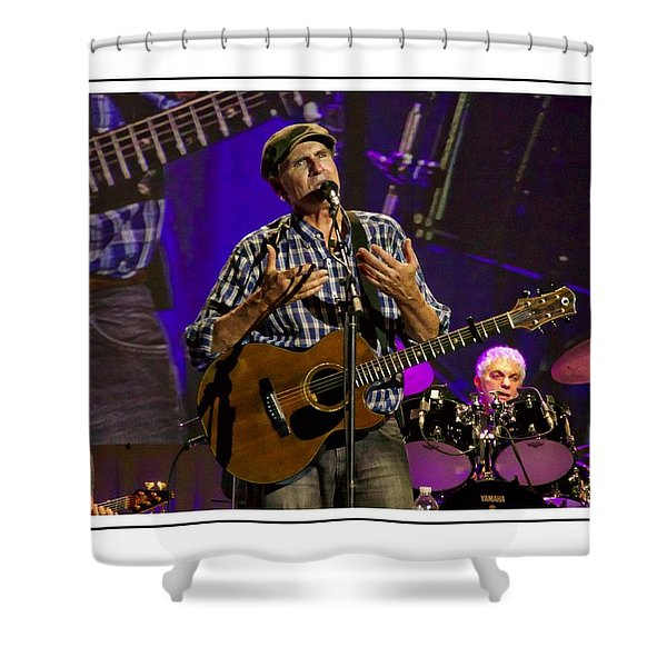 James Taylor Sweet Shower Curtain