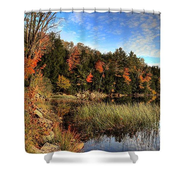 Jamies Pond 2 Shower Curtain