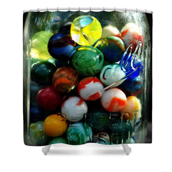 Jar Full Of Sunshine Shower Curtain