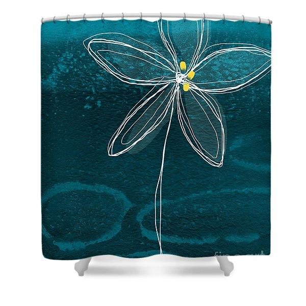 Jasmine Flower Shower Curtain