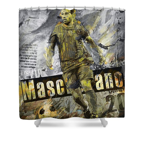 Javier Mascherano - C Shower Curtain