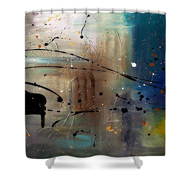 Jazz Night Shower Curtain
