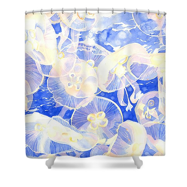 Jellyfish Jubilee Shower Curtain