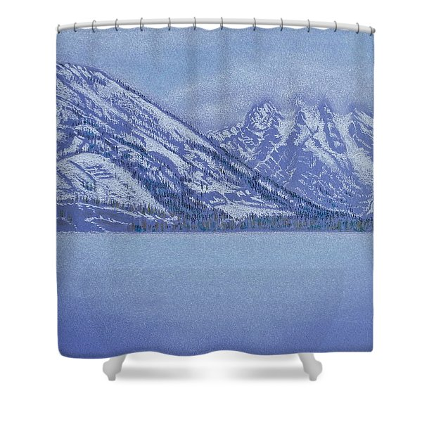 Jenny Lake - Grand Tetons Shower Curtain