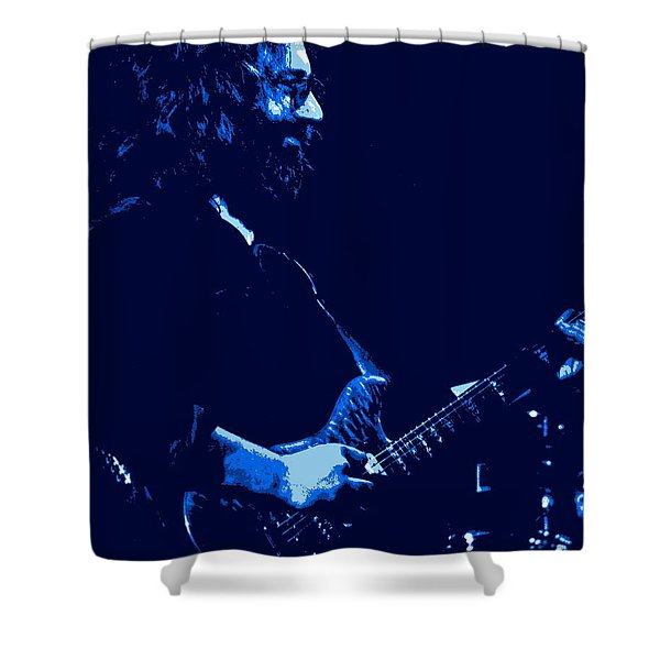 Jerry Happy At Winterland 2 Shower Curtain
