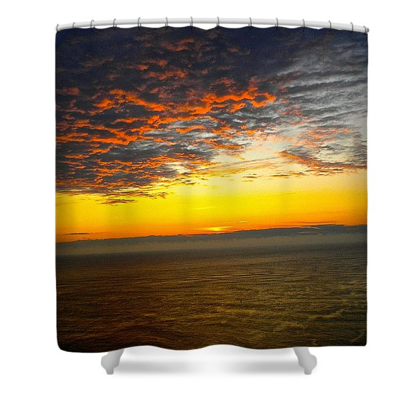 Jersey Morning Sky Shower Curtain