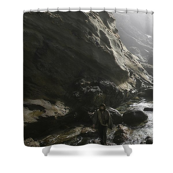 Jesus Christ- For I Know The Plans I Have For You Shower Curtain