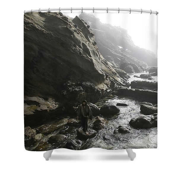 Jesus Christ- He Comforts Us In All Our Troubles Shower Curtain