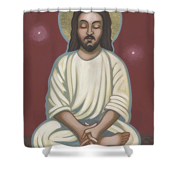 Jesus Listen And Pray 251 Shower Curtain