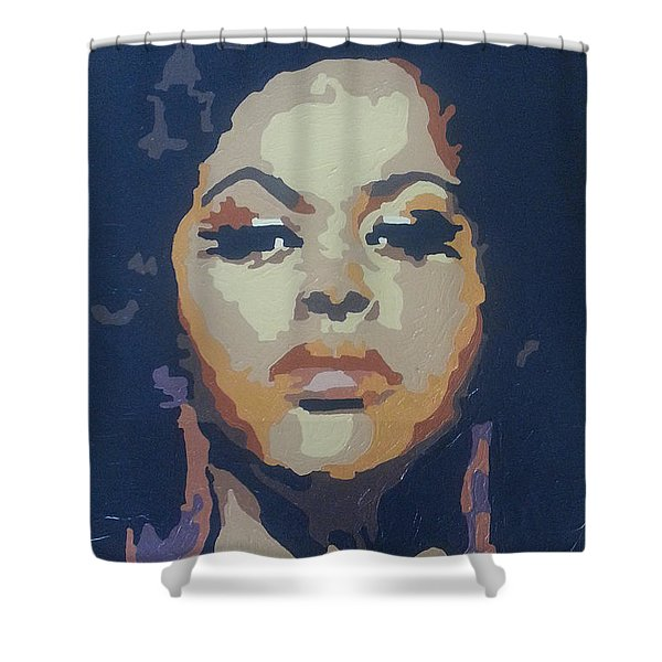 Jill Scott Shower Curtain
