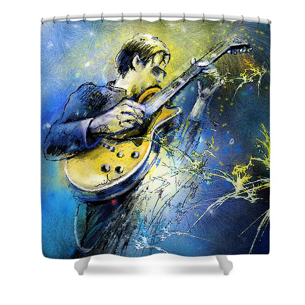 Joe Bonamassa 01 Shower Curtain