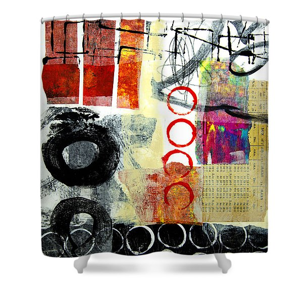 Joggles Shower Curtain