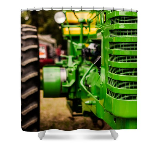 John Deere Model G Shower Curtain