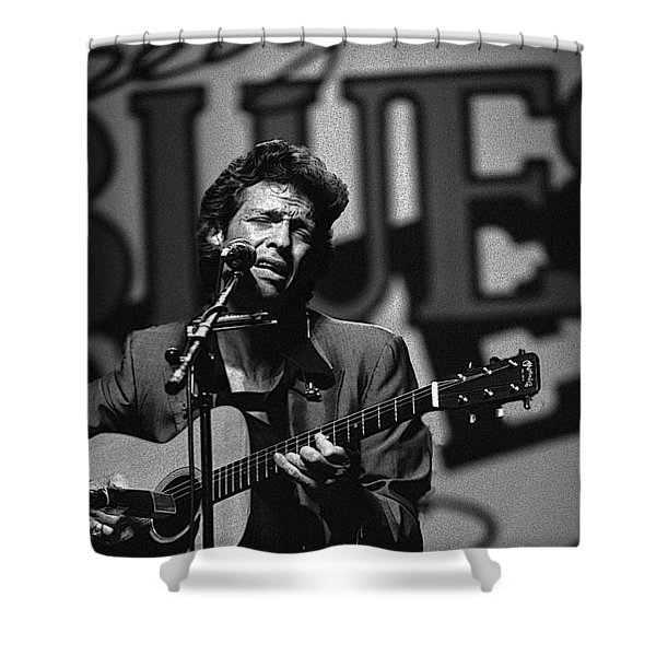 John Hammond Blues Shower Curtain