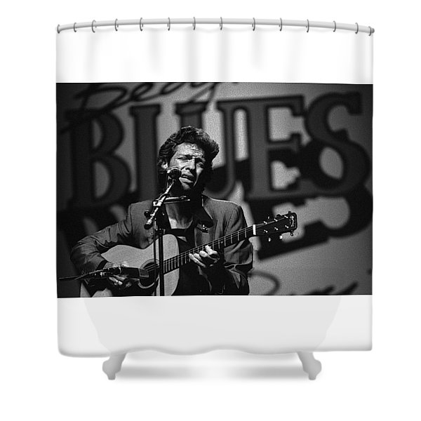 John Hammond Blues Shower Curtain