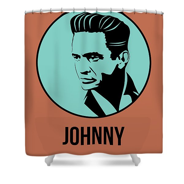 Johnny Poster 1 Shower Curtain