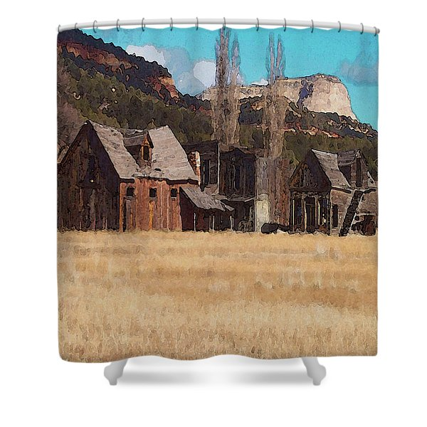 Johnsonville Shower Curtain