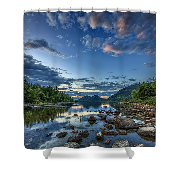 Jordan Pond Shower Curtain