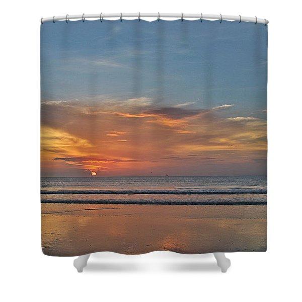 Jordan's First Sunrise Shower Curtain