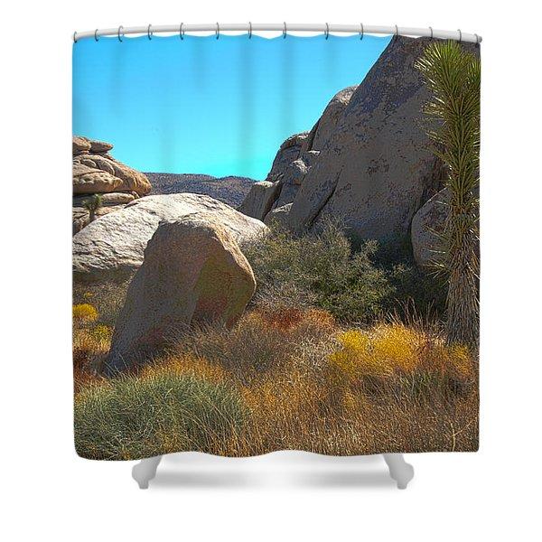 Joshua Tree National Park Shower Curtain