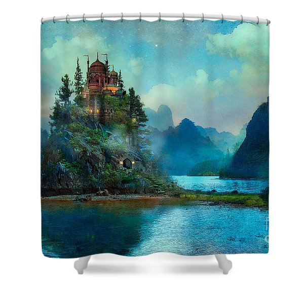 Journeys End Shower Curtain