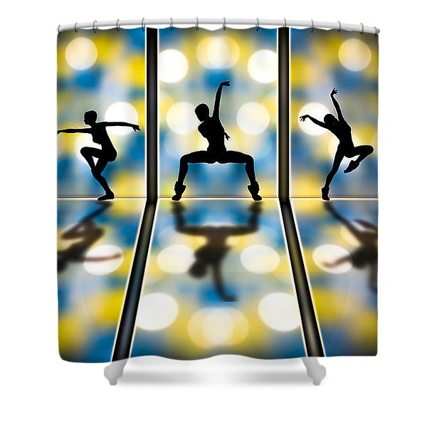 Joy Of Movement Shower Curtain