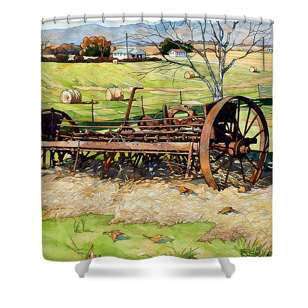 Joy Of Rust Shower Curtain