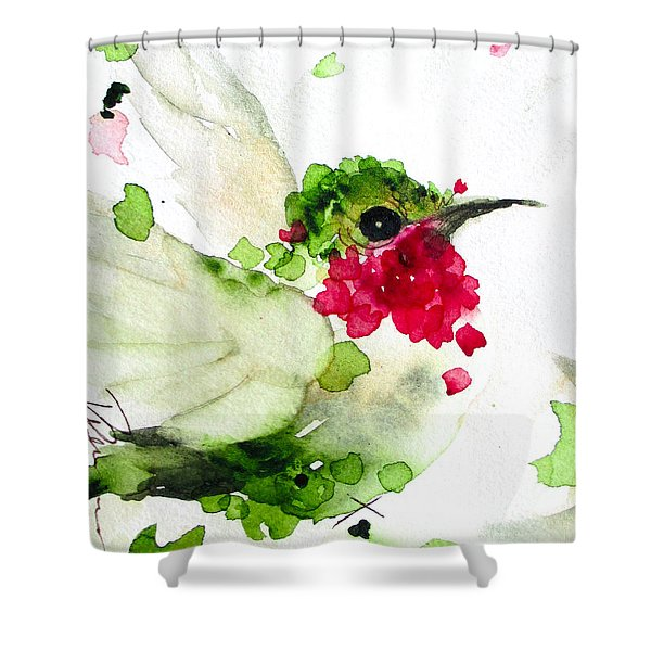 Joyful Flight Shower Curtain
