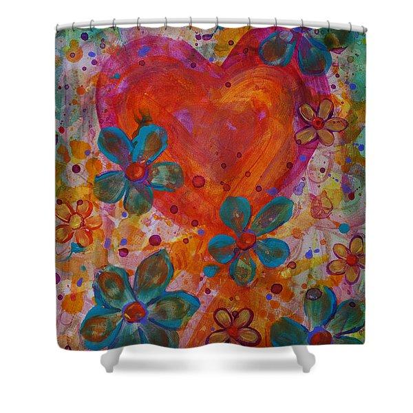 Joyful Noise Shower Curtain