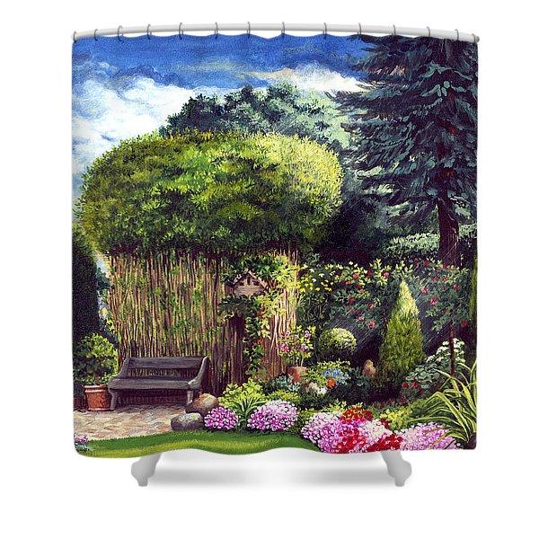 Joy's Garden Shower Curtain