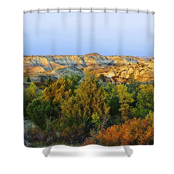 Juniper And Canyons, Little Missouri Shower Curtain