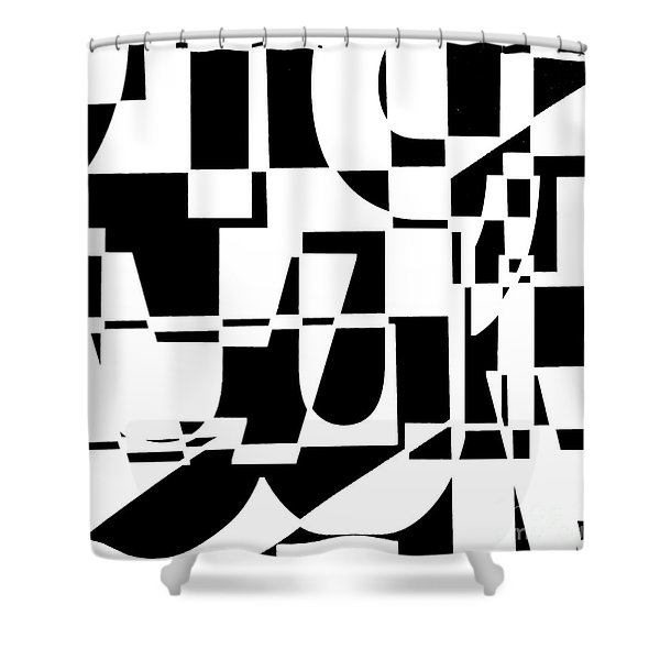Junk Mail Shower Curtain