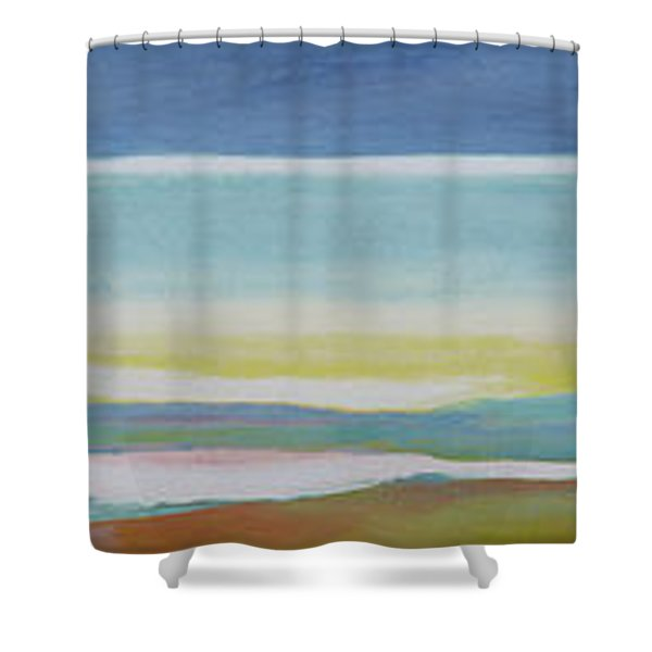 Just Above Sea Level Shower Curtain