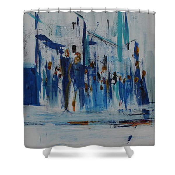 Just Another Day In New York City Shower Curtain