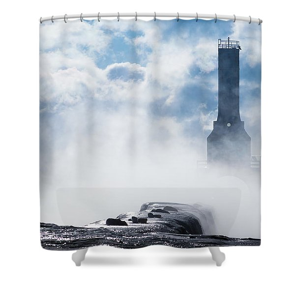 Just Cold And Disappear Shower Curtain