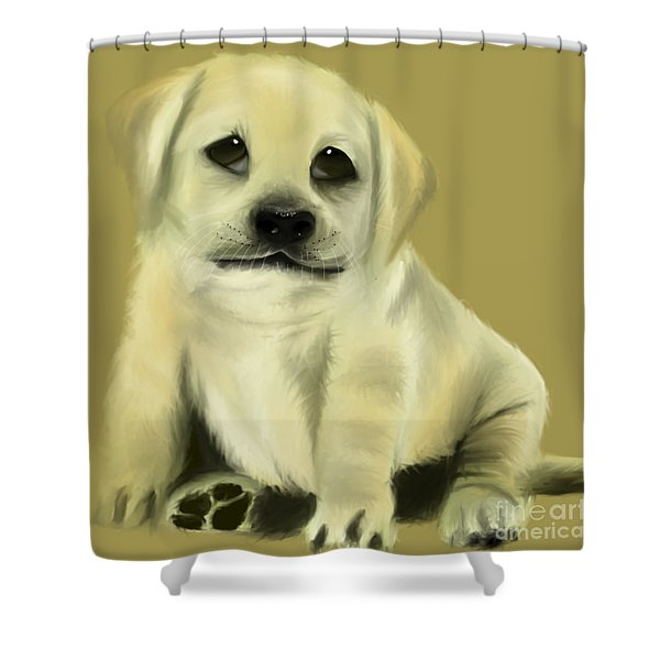 Just Love Me Please Shower Curtain