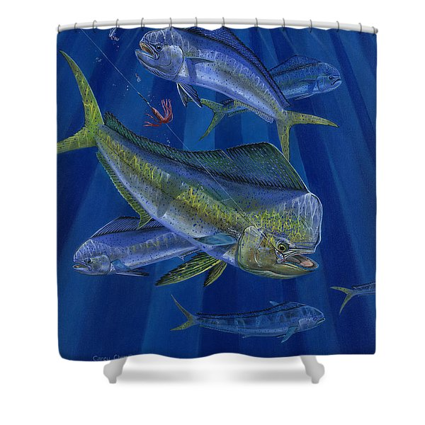 Just Taken Off0025 Shower Curtain