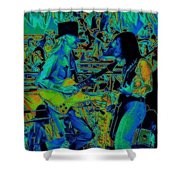 Jwinter #5 Enhanced Colors 1 Shower Curtain
