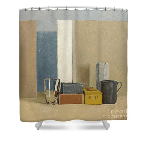 K L G Shower Curtain