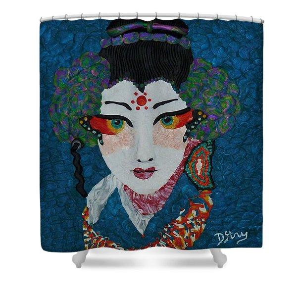 Kabuki Shower Curtain