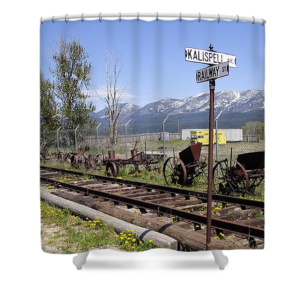 Kalispell Crossing Shower Curtain